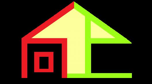 向上室内设计logo